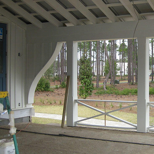 Palmetto Bluff Side Porch Before