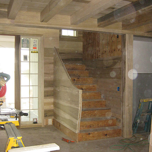 Palmett Bluff Staircase Before
