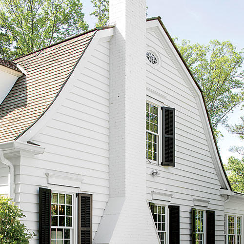 Modern White House With Integrated Angles And Corners: Best Exterior Makeover