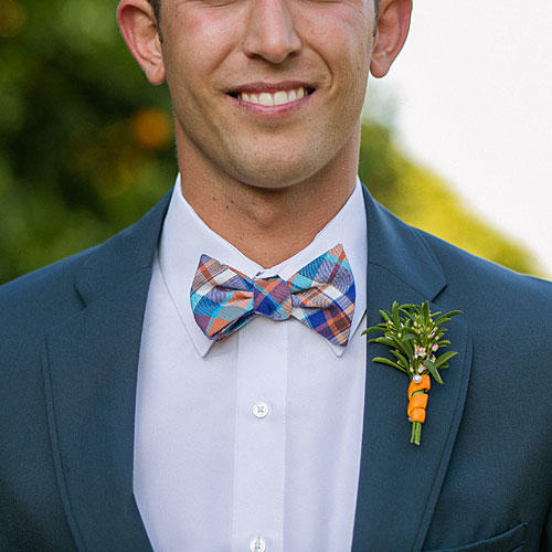 Colorful Plaid Bow Tie