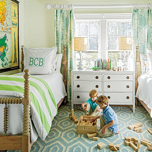 20 Decorating Ideas From The Southern Living Idea House: Kids' Room Idea From Designers