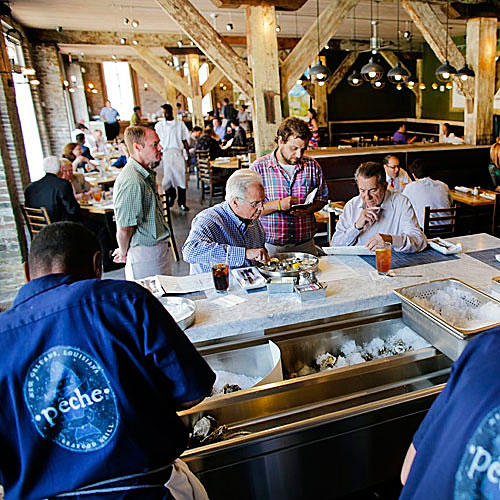 Peche Seafood Grill Restaurant New Orleans Louisiana