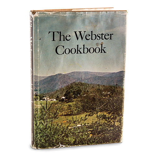 The Webster Cookbook