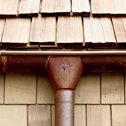 Notice the Details: Copper Gutters