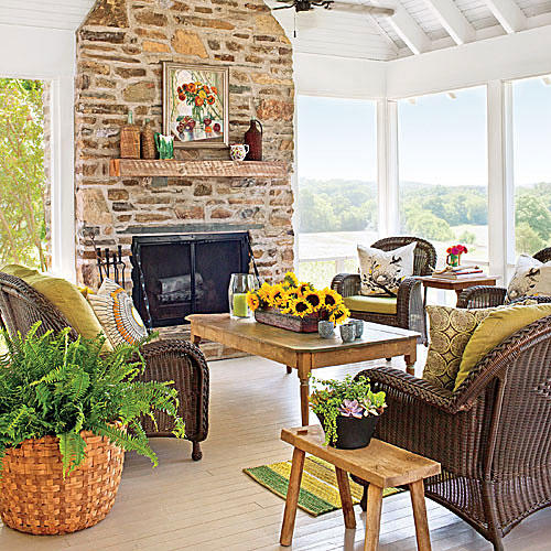 8. Create an Outdoor Living Room