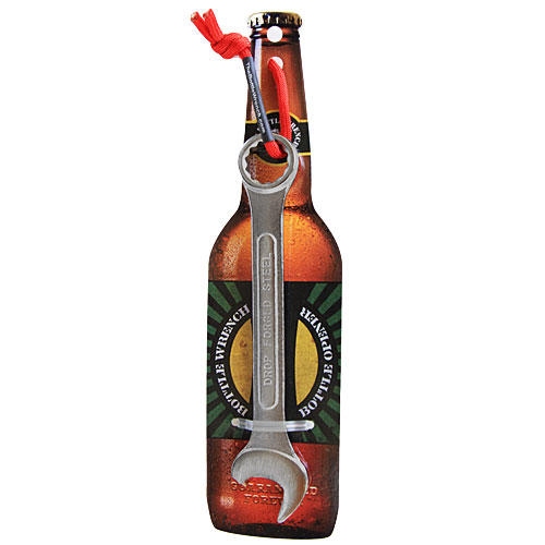 The Bottle Wrench Bottle Opener