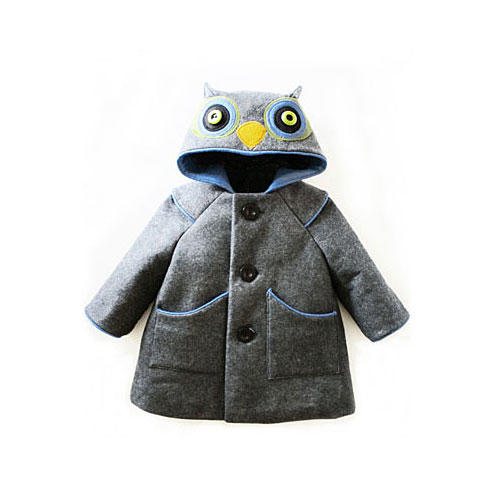 Little Grey Owl Coat