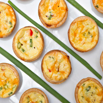 Egg and Cheese Breakfast Bites (low-lactose)
