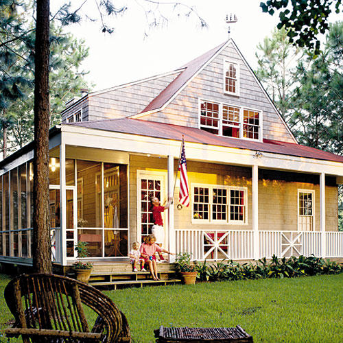 Top house plans southern living for Bayou cottage house plan