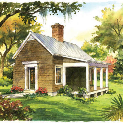 Garden Cottage Plan #1830