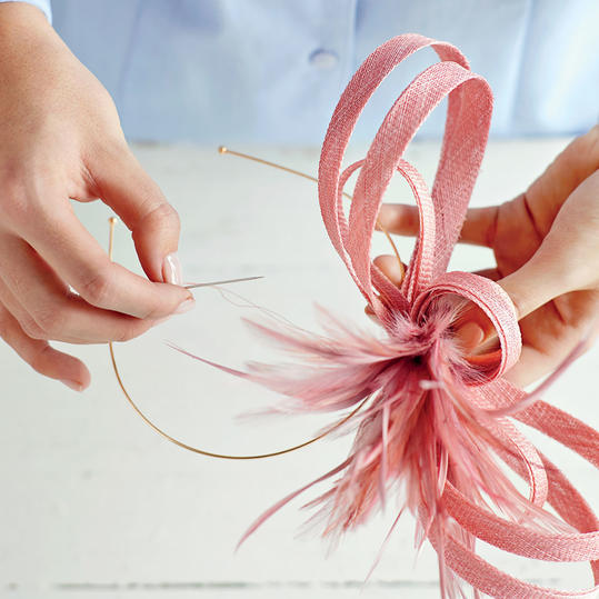 How To Make A Fascinator - Southern Living