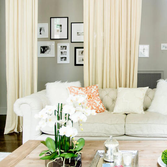 Cream Living Room Couch