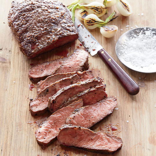 Quick and Easy Dinner Recipes: Pan-Seared Flat Iron Steak
