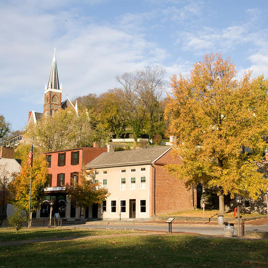 Fall in Harpers Ferry