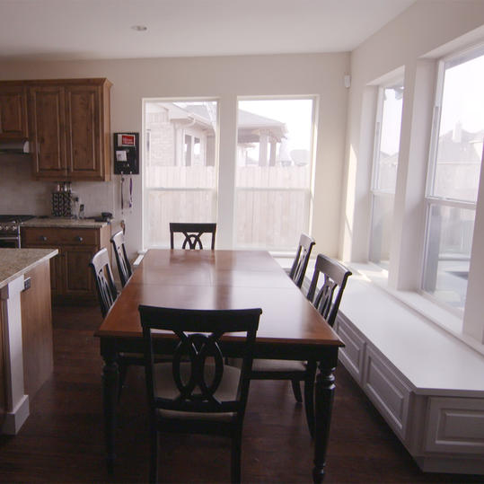 Kitchen Dining Area Before