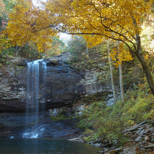 Cloudland Canyon Falls