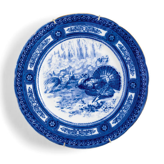 Royal Doulton Turkey Plate