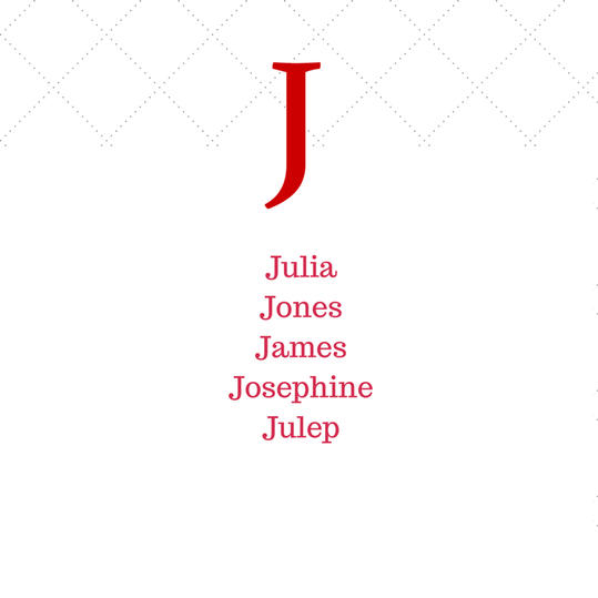 Timeless Southern J Baby Names