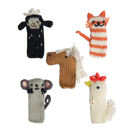 Barn Puppet Set