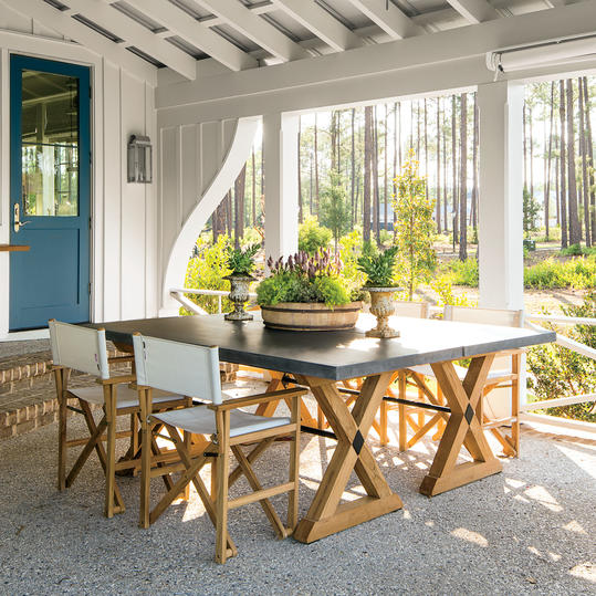 Palmetto Bluff Side Porch After