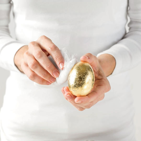 Golden Egg Remove Excess