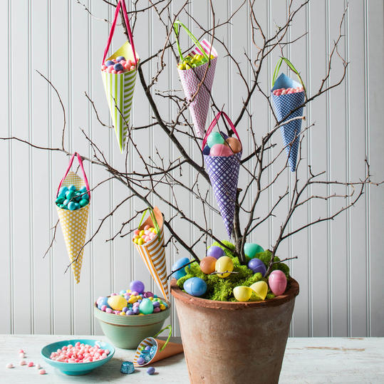 Easter Branch Candy Tree
