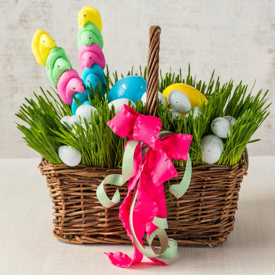 The Rye Grass Easter Basket
