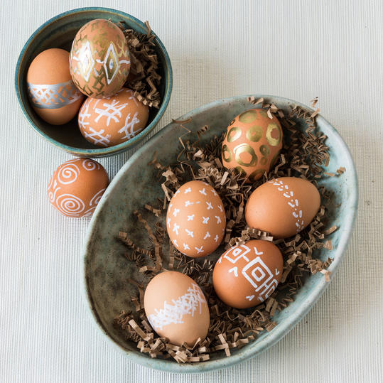 Paint Pen Eggs