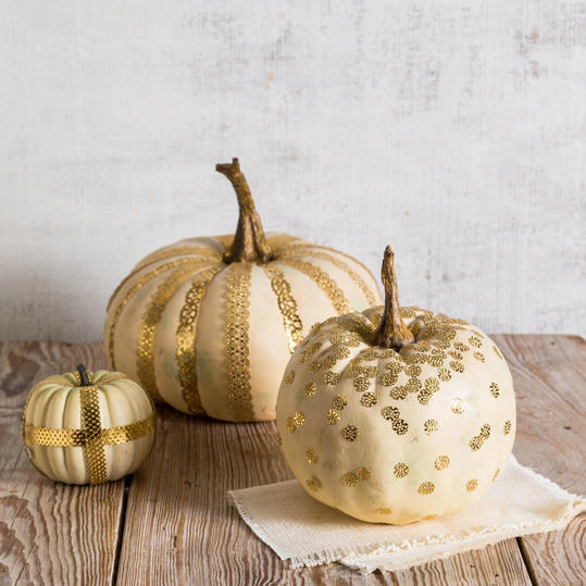 Cute No-Carve Pumpkins