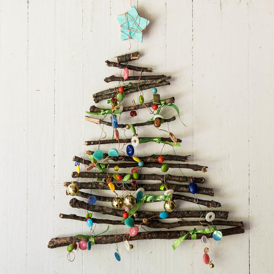 Twig Christmas Tree Step 3