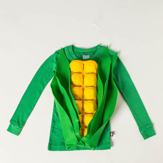 How To Make Ear of Corn Costume