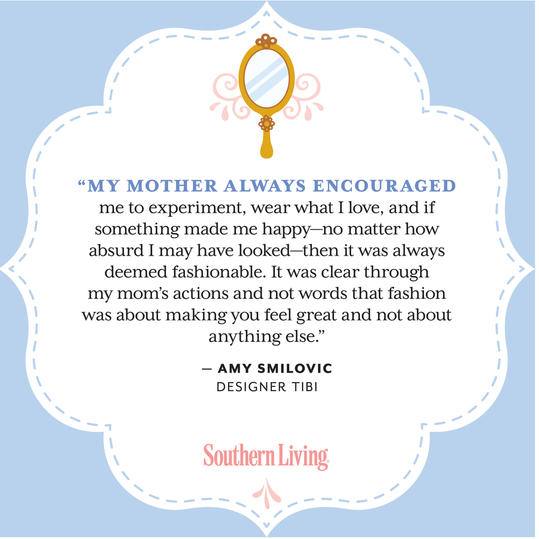 Amy Smilovic Mother's Day Quote