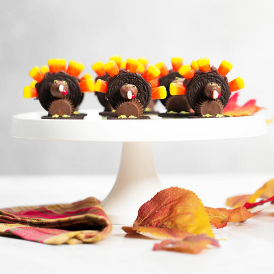 Chocolate Candy Thanksgiving Turkeys