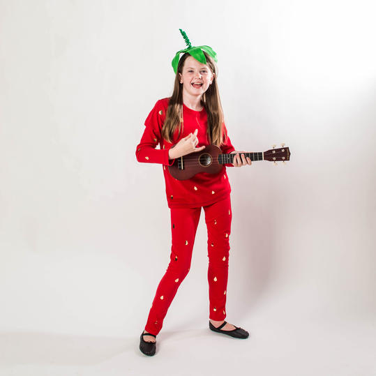 Diy halloween costumes for kids southern living strawberry jam costume solutioingenieria Images
