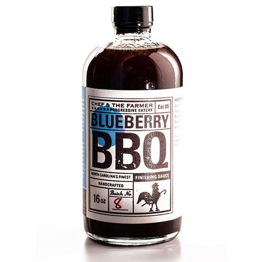 Runner Up: Blueberry BBQ Finishing Sauce