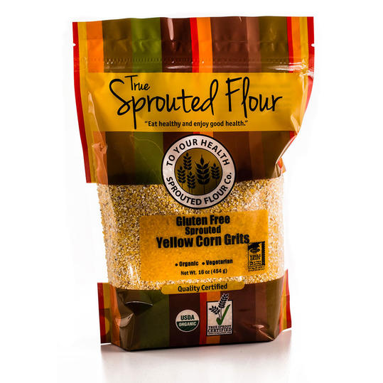 Runner Up: Organic Sprouted Gluten-Free Yellow Corn Grits