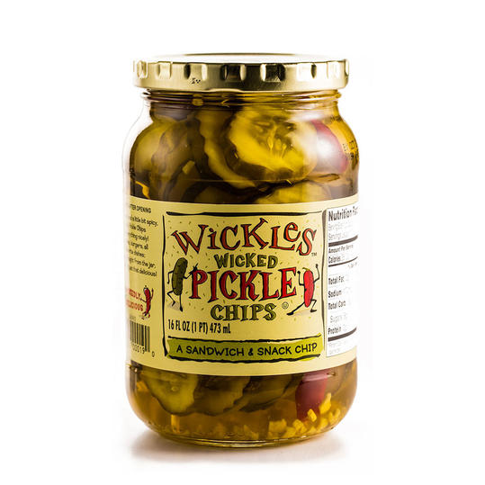 Runner Up: Wicked Pickle Chips