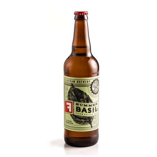 Summer Basil Farmhouse Ale
