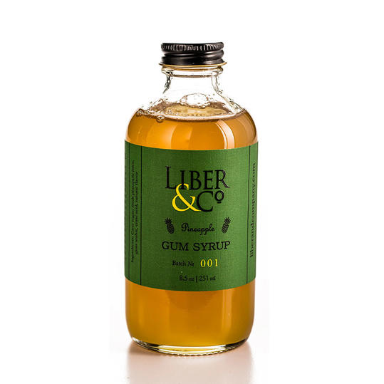 Liber and Co. Pineapple Gum Syrup