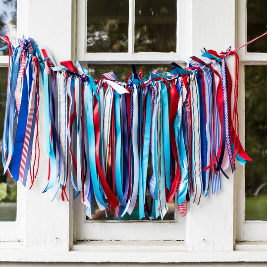 Ribbon Bunting Step 3