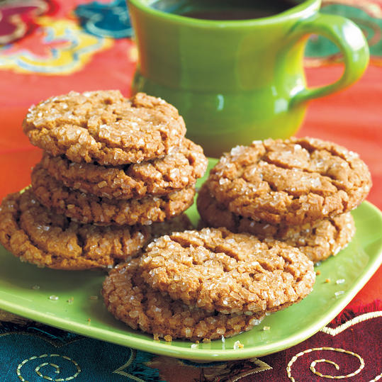 Molasses-Spice Crinkles Cookies Recipes