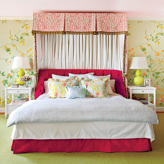 Pretty Floral Bedroom. Master Bedroom Decorating Ideas   Southern Living