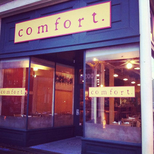 Comfort Restaurant Richmond Virginia