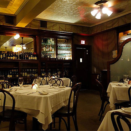 Gautreau's Restaurant New Orleans Louisiana