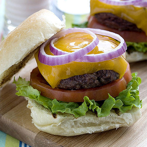 The Perfect Hamburgers for Two