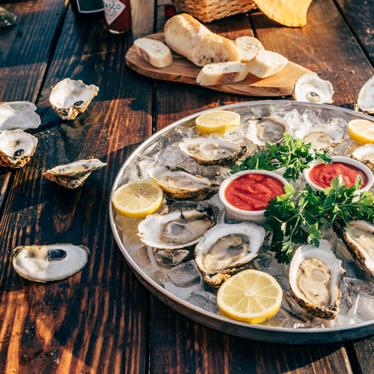 Pleasure House Oyster Farm Tours