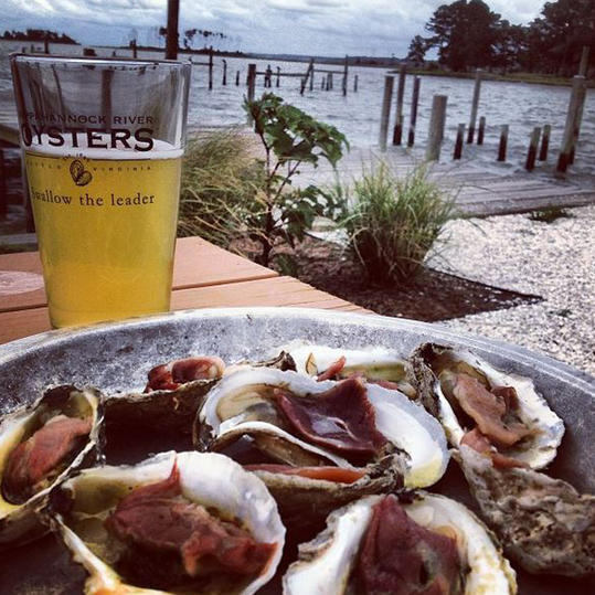 Rustic Elegance? You're in Virginia Oyster Country
