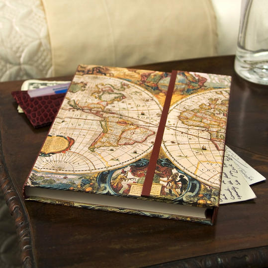 Father's Day GG Barnes and Noble Old World Journal Image