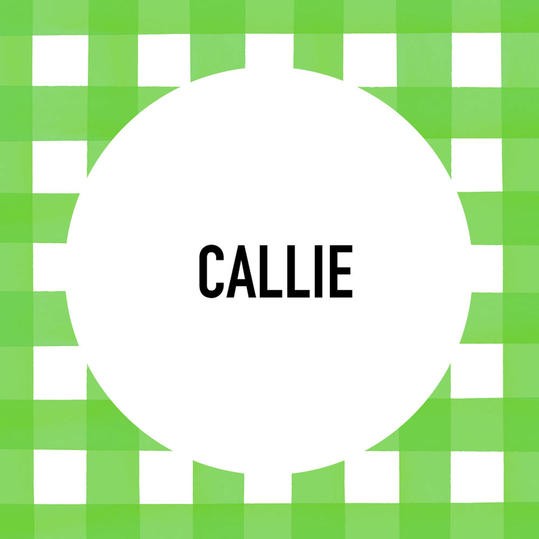 Southern Pet Name: Callie