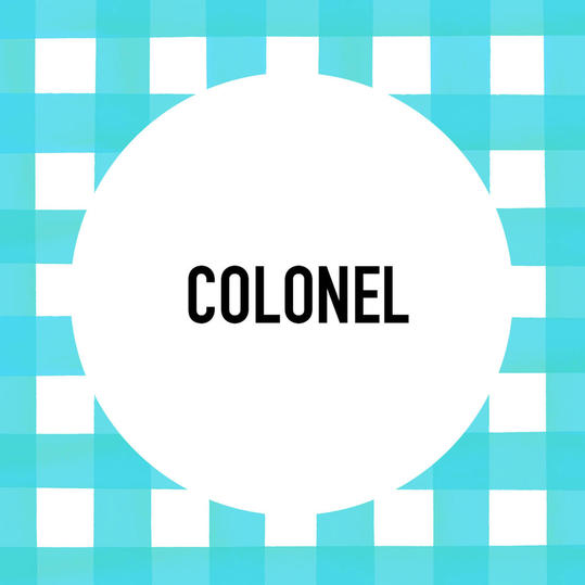 Southern Pet Name: Colonel